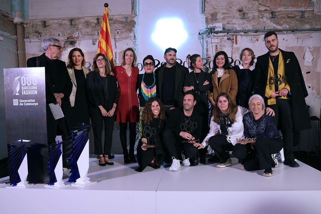Entrega premios 080 Barcelona Fashiion 2019